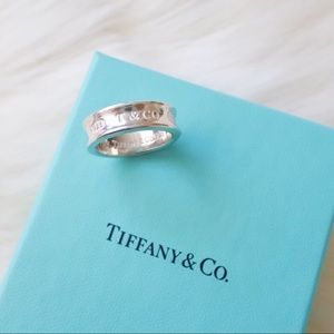 Tiffany & Co. 1837 Sterling Silver Ring Size 5